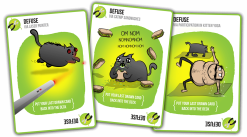 Exploding Kittens - Defuse cards