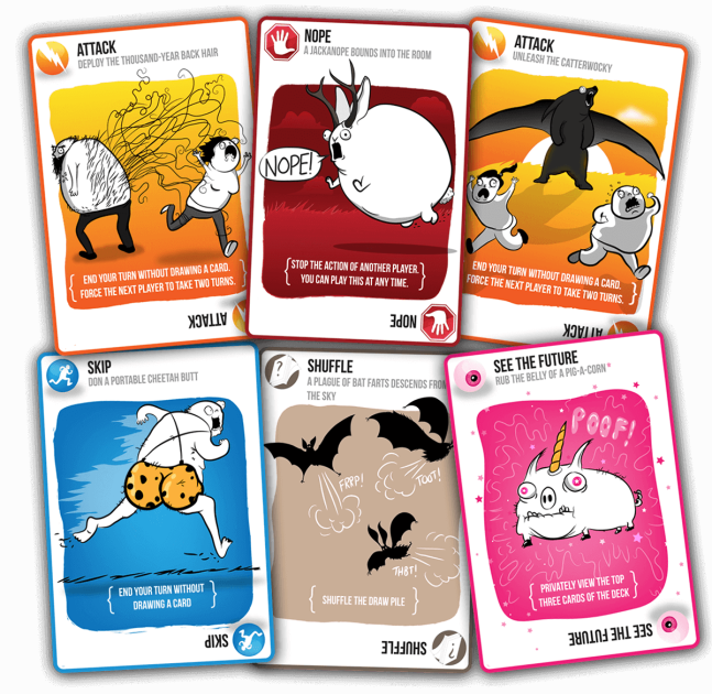 Exploding Kittens - other cards